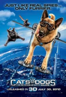 Фильм Кошки против собак: Месть Китти Галор / Cats & Dogs: The Revenge of Kitty Galore (2010) HDRip